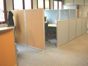 Aménagement bureau cloisonnette de bureau cloison de bureau